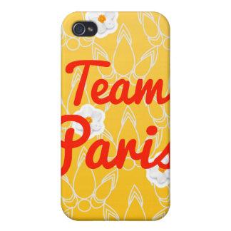 Team Paris Cover For iPhone 4