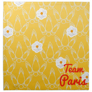 Team Paris Printed Napkin