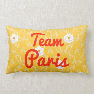 Team Paris Pillow