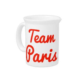 Team Paris Beverage Pitchers