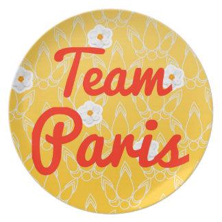 Team Paris Plate