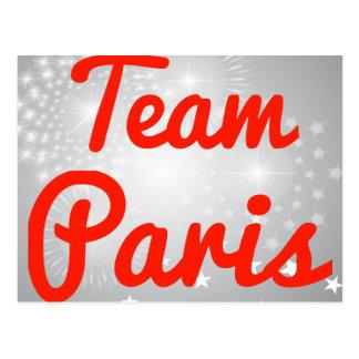 Team Paris Post Cards