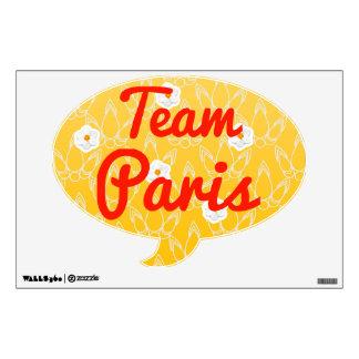 Team Paris Room Stickers
