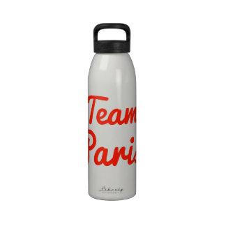 Team Paris Water Bottle