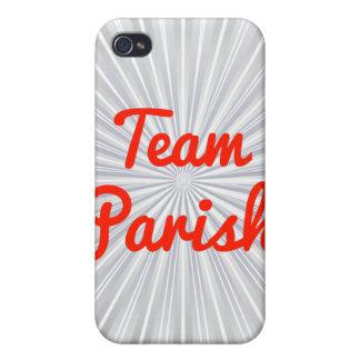 Team Parish iPhone 4/4S Cases