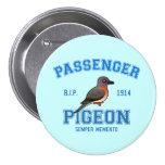 Team Passenger Pigeon Buttons