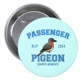 Team Passenger Pigeon Pinback Button