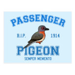 Team Passenger Pigeon Postcard
