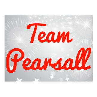Team Pearsall Postcard