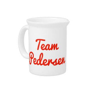 Team Pedersen Beverage Pitcher