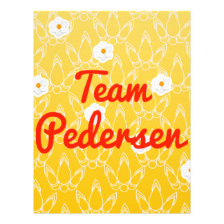 Team Pedersen Custom Flyer