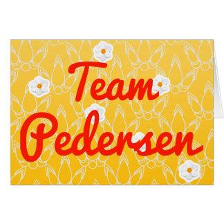 Team Pedersen Greeting Card