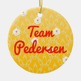 Team Pedersen Ornament
