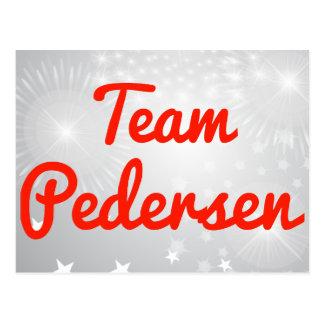 Team Pedersen Postcard