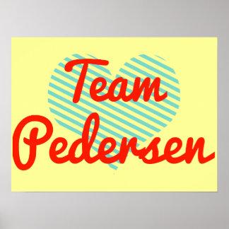 Team Pedersen Posters