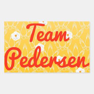 Team Pedersen Sticker