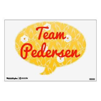 Team Pedersen Wall Sticker