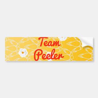 Team Peeler Bumper Sticker