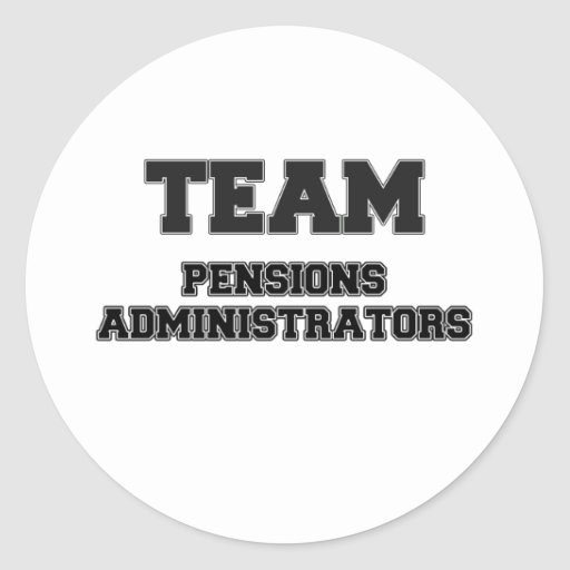 Team Pensions Administrators Stickers