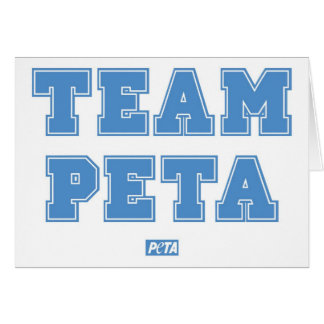 Team PETA Cards