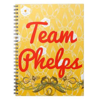 Team Phelps Spiral Notebook