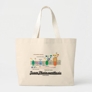 Team Photosynthesis (Light-Dependent Reactions) Large Tote Bag