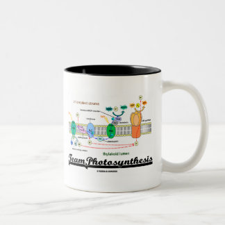 Team Photosynthesis (Light-Dependent Reactions) Two-Tone Coffee Mug