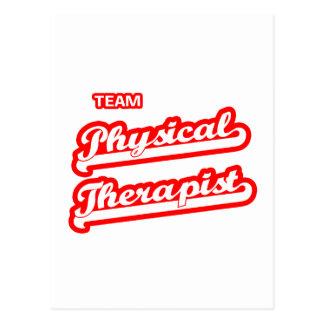 Team Physical Therapist Postcard