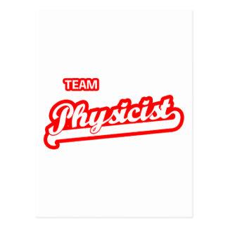 Team Physicist Postcard
