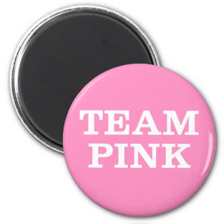 Team Pink... forthe Bride's family and friends Fridge Magnet