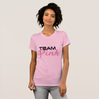 Team Pink Gender Reveal T-shirt