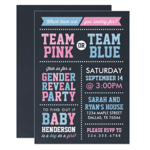 photograph relating to Free Printable Gender Reveal Invitations called Gender Clarify Invites Zazzle