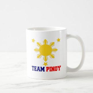 Team Pinoy 3 stars and a Sun Coffee Mug