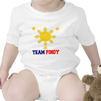 Team Pinoy 3 stars and a Sun Shirts