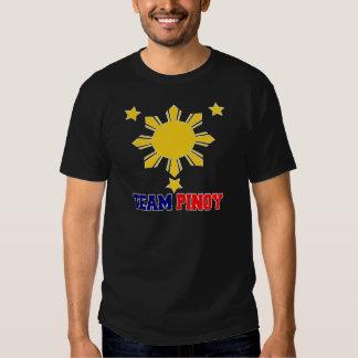 Team Pinoy 3 stars and a Sun Tshirts