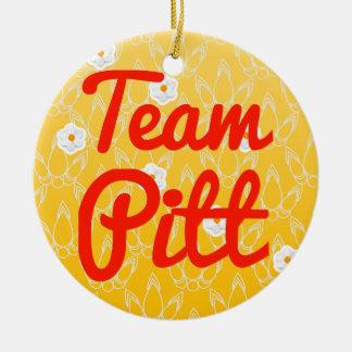 Team Pitt Ceramic Ornament