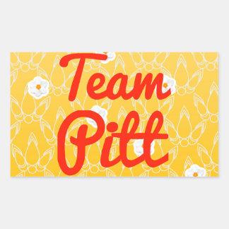 Team Pitt Rectangular Sticker