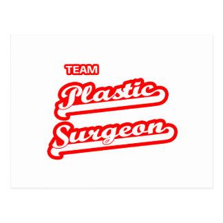 Team Plastic Surgeon Postcard
