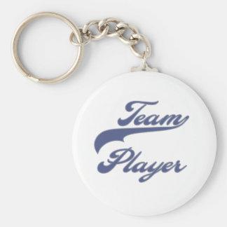 Team Player Keychain