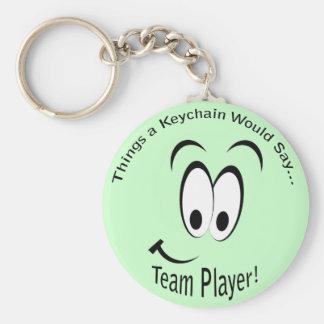 Team Player Lt Keychain