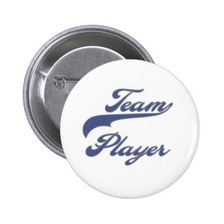 Team Player Pinback Button