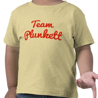 Team Plunkett Tee Shirts