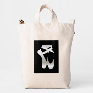 Team Pointe Ballet Silhouette Duck Bag
