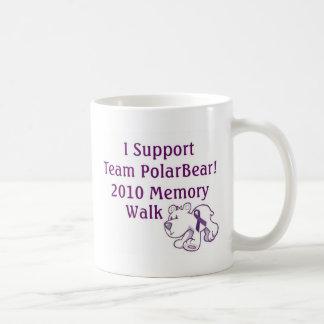 Team PolarBear Support! Coffee Mug