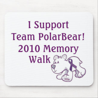 Team PolarBear Support! Mouse Pad