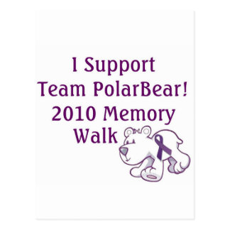 Team PolarBear Support! Postcard