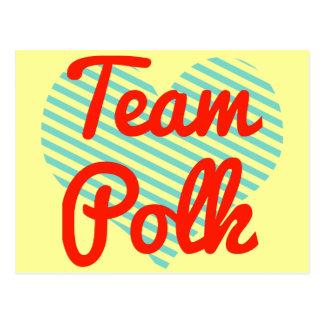 Team Polk Postcards