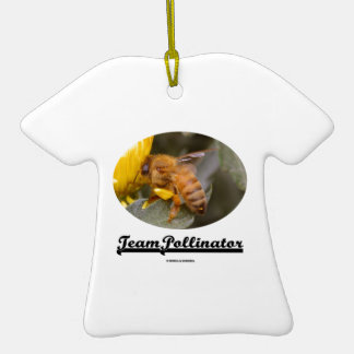 Team Pollinator (Bee On Yellow Flower) Ornament