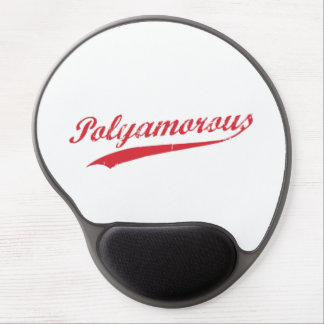 Team Polyamory Polyamorous and Proud Gel Mouse Pad