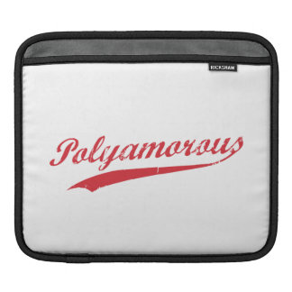 Team Polyamory Polyamorous and Proud Sleeve For iPads